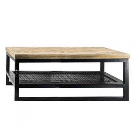 Industriële salontafel / bijzettafel