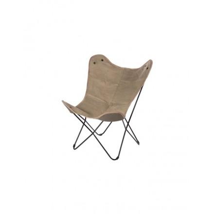 Vlinderstoel stof