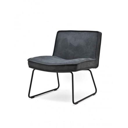 Lounge stoel antraciet