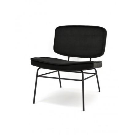Lounge stoel zwart