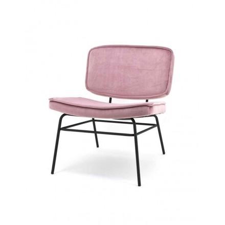 Lounge stoel roze