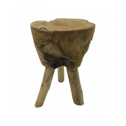 Landelijke houten kruk